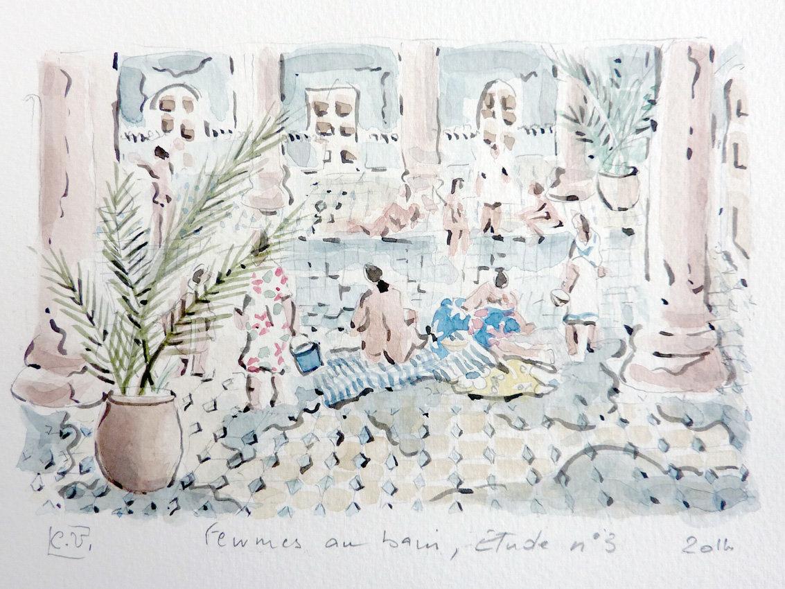 Femmes-aux-bains-Etude-3