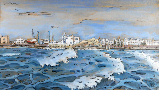 Essaouira Vue du port